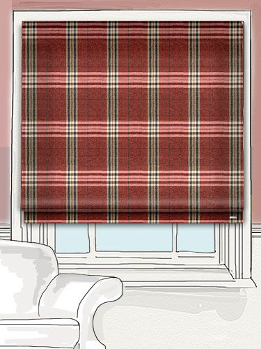 Highland Tartan Crimson by tuiss ®