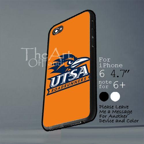 utsa roadrunners logo Iphone 6 note for  6 Plus