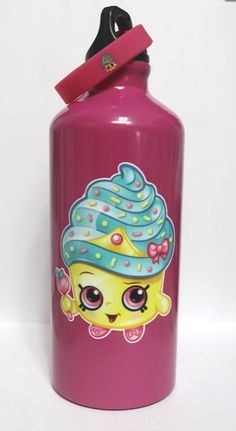 Shopkins Vinyl Design For Water Bottle Can Personalize