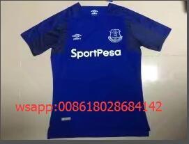Versión tailandesa de la temporada 1718 de la segunda camiseta de invitados S-4XL Camiseta tailandesa de 1718 temporada Atletico Home (sin La Liga) S-4XL Temporada 1718 versión tailandesa del Atlético de Madrid sin una camiseta amarilla S-4XL 1718 pumas negro de manga corta S-XL 1718 Everton casa azul de manga corta S-4XL