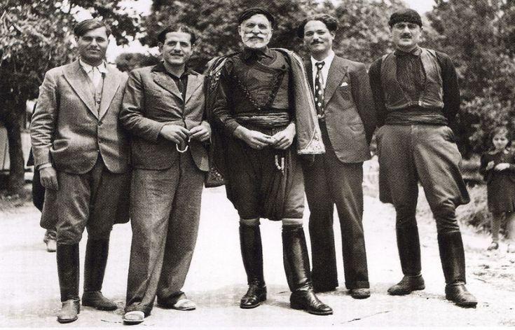 Nelly's Man from Sfakia, Crete, 1939