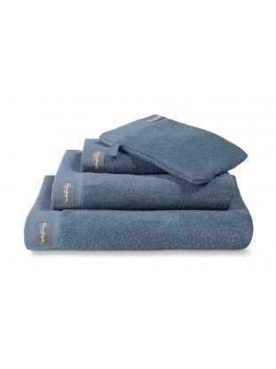 dafc6f2be17 Badgoed 550 gr/m² Vintage Blue Home Towel vintage blue handdoeken ...