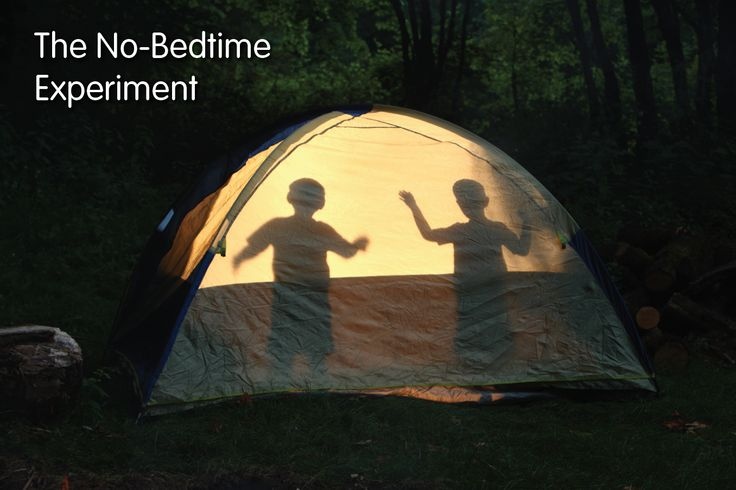 This summer, we attempted the unthinkable. We let our little ones pick their OWN sleep schedules. We present to you The No-Bedtime Experiment.