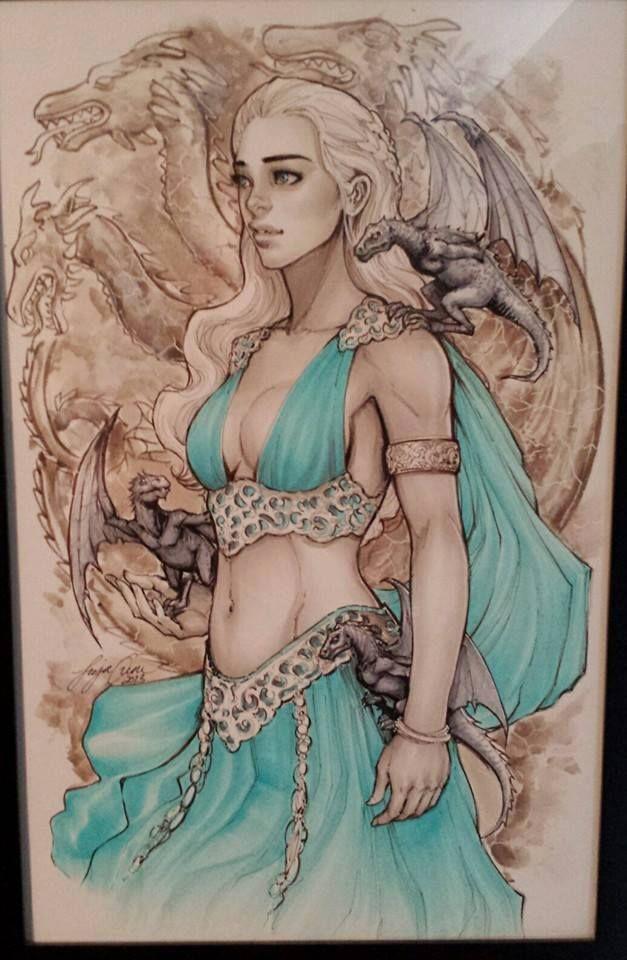 Game of Thrones - Daenerys Targaryen by Siya Oum