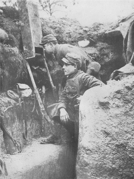 The horrors of trench warfare during the First World War haunt me constantly.