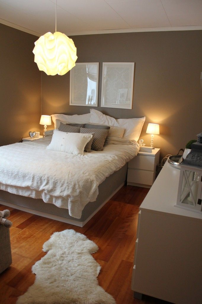Grey Bedroom. Like for a the guest room