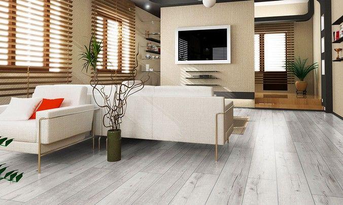 Насколько актуально использование серого ламината в жилых помещениях?