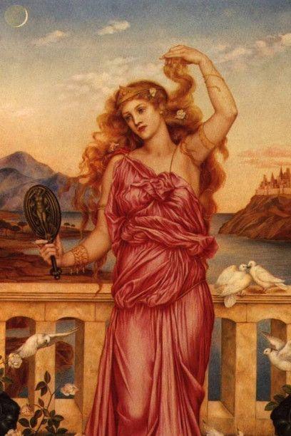 E. de Morgan, Elena di Troia