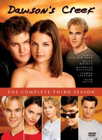 Created by Kevin Williamson.  With James Van Der Beek, Katie Holmes, Michelle Williams, Joshua Jackson. Four friends in a small coastal town help each other cope with adolescence.