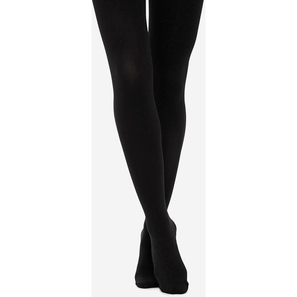 The Limited Substantial Opaque Tights Black (25 AUD) ❤ liked on Polyvore featuring intimates, hosiery, tights, legs, black, opaque stockings, opaque pantyhose, opaque hosiery and opaque tights