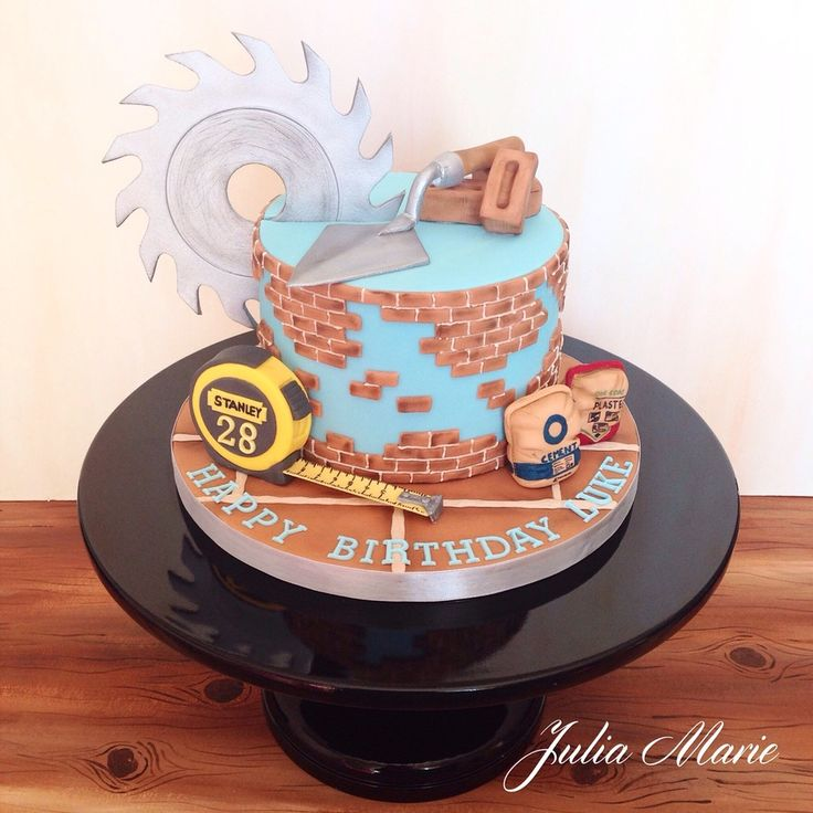 Builder/plasterer cake