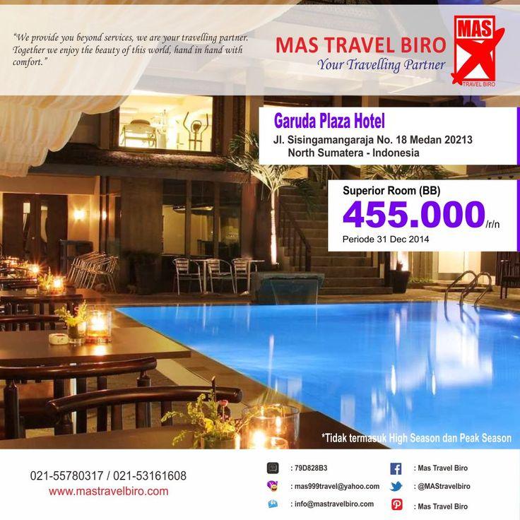 Hotel sempurna untuk liburan atau perjalanan bisnis, dengan diskon terbaik dan penawaran khusus. Garuda Plaza Hotel. Info: 021- 55780317 / 021-53161608