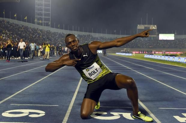 Jamaica, the land of wood, water and speed saw the legend Usain Bolt demonstrated his speed on home soil for the final time last night at the National Stadium in Kingston.