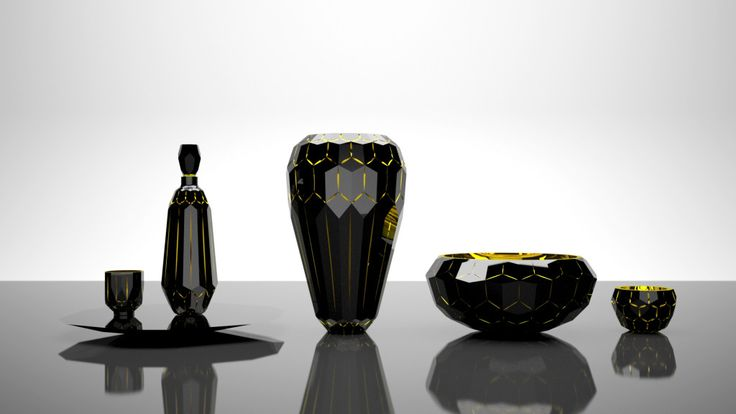 Glass collection - Cinque Torri Designed by Filip Dobias for Moser
