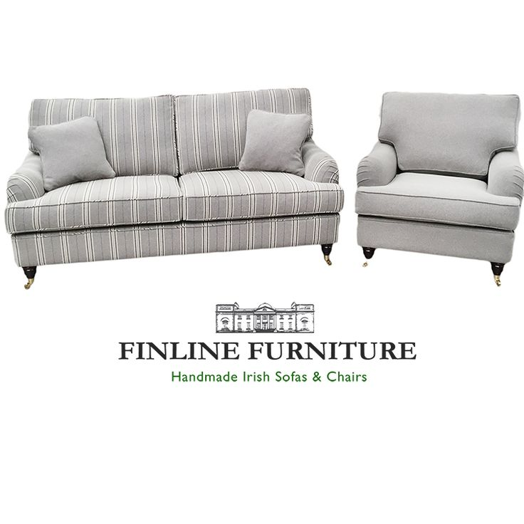 Howard 3 str & Chair in Silver Collection Fabric