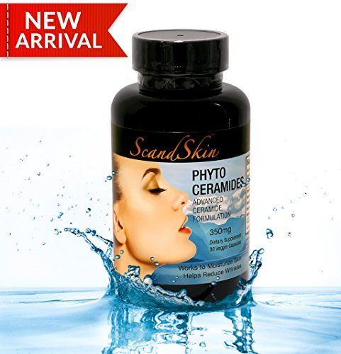 Phytoceramides 350mg 30 Veggie Capsules with Advanced Ceramides Formulation Deep Skin Moisturizing Plant Derived GMO  Glutenfree  USA Made  Get7Solutions * See this great product.  This link participates in Amazon Service LLC Associates Program, a program designed to let participant earn advertising fees by advertising and linking to Amazon.com.
