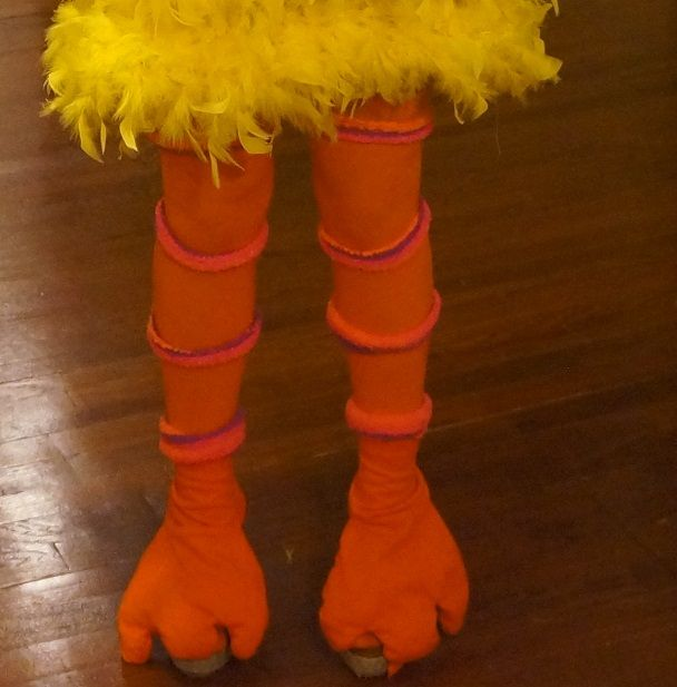 Halloween DIY: Paulina's Big Bird Costume | Lauren Conrad