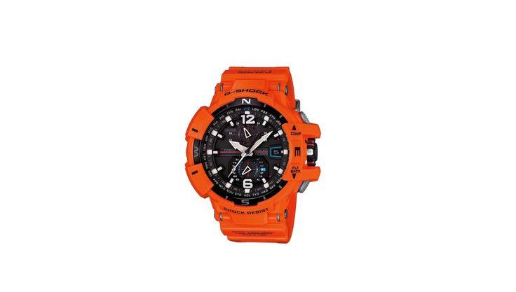 Casio G-Shock Mens GWA1100R-4A Gravitymaster Atomic Tough Solar Orange Watch for $179.99 at eBay
