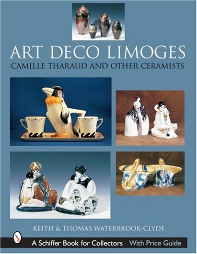Art Deco Limoges: Camille Tharaud And Other Ceramists (Schiffer Book for Collectors) by Keith Waterbrook-Clyde >>> ...In 475 brilliant color images worthy of the movement, the Art Deco decorated porcelains from Limoges, France, are displayed. While centering on the work of the talented artist Camille Tharaud, examples from Robj, Edouard Marcel Sandoz, Suzanne Lalique, and Royal Limoges are also included. ...with an extensive bibliography, and index...