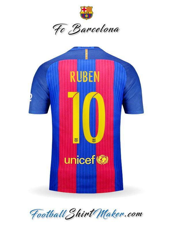 Camiseta FC Barcelona 2016/2017 Ruben 10