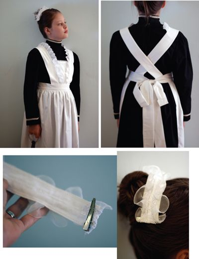 halloween idea - downton abbey maid - i must be able to find a white apron somewhere in bk...