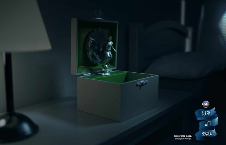 Mg Esporte Clube / TV Globo Minas: Sleep with soccer, 1 | Ads of the World™