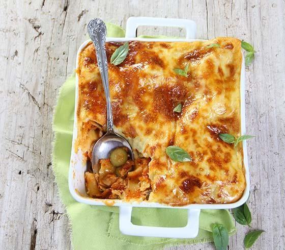 Baby marrow and mushroom lasagna #recipe | Murgpampoentjie-en-sampioen-lasagne