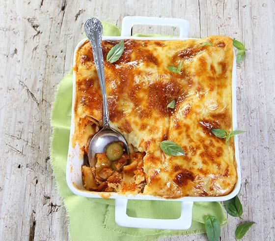 Baby marrow and mushroom lasagna #recipe | Murgpampoentjie-en-sampioen-lasagne
