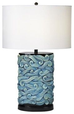 Prince Of Tides Table Lamp   Beach Style   Table Lamps   Coastal Bliss  Designs