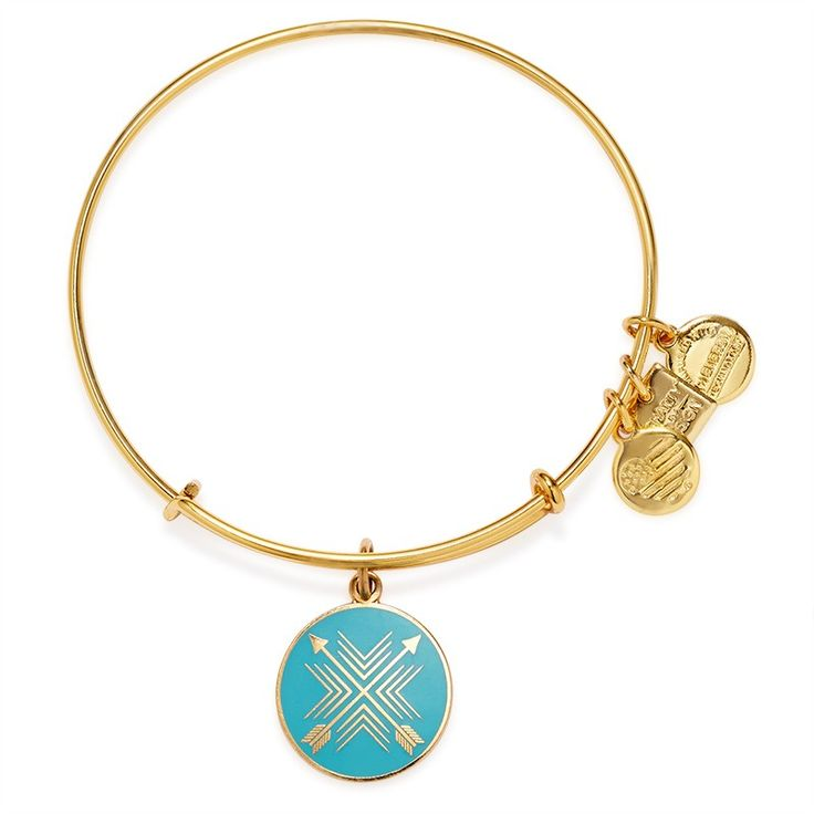 Arrows of Friendship Charm Bangle | ALEX AND ANI