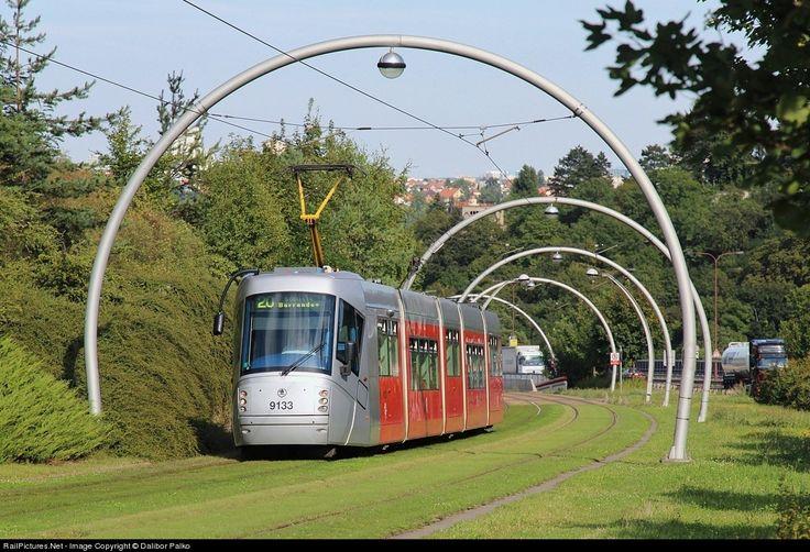 RailPictures.Net Photo: 9133 DP Praha Skoda 14T at Praha, Czech Republic by Dalibor Palko