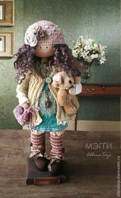 Текстильная кукла. Текстильные куклы.