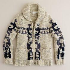 vintage cowichan sweater - Google Search