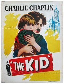 Charlie Chaplin The Kid original old vintage Hollywood movie posters for sale ...