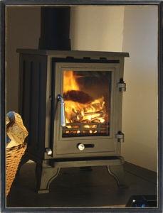 Modern look, cheap wood burning stoves (£240)