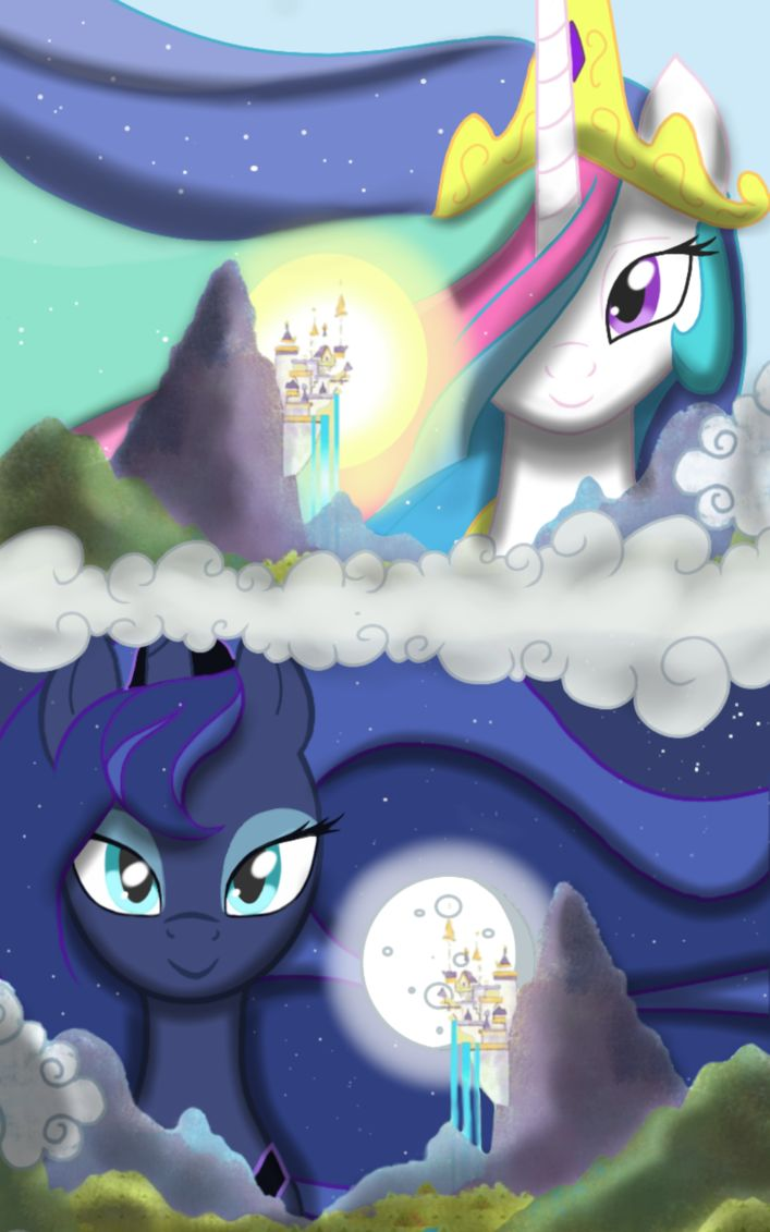 Day and Night by PrincessTwiliSparkle.deviantart.com on @DeviantArt