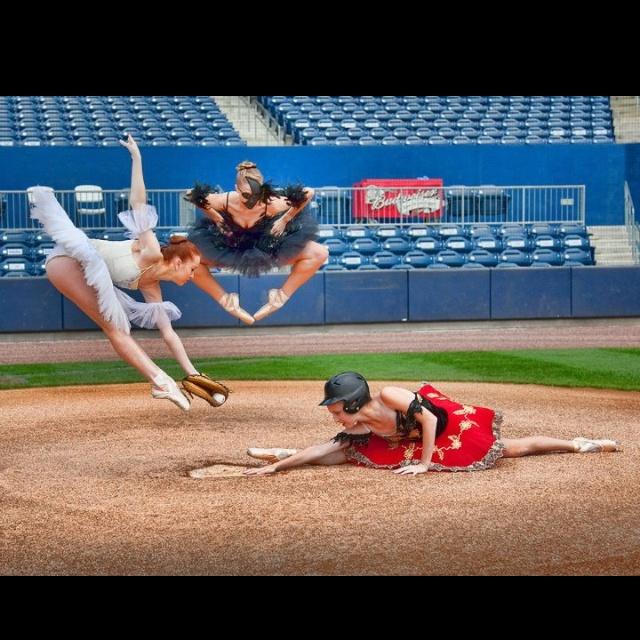 Ballet and baseball