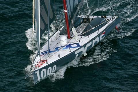 IMOCA60 - 2008 : DCNS pour Marc Thiercelin et Christopher Pratt) by Finot