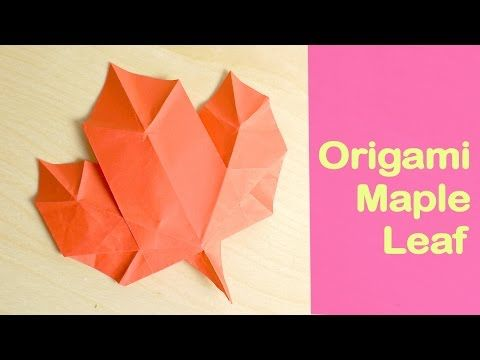 429 best origami leaves images on Pinterest | Leaves ... - photo#9