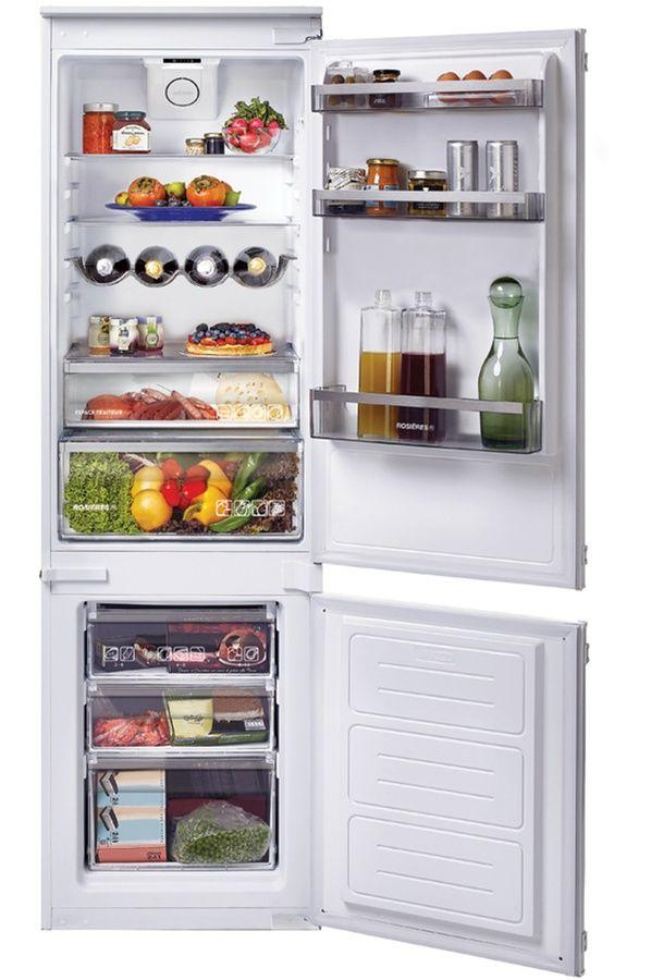 Refrigerateur congelateur encastrable Rosieres RBBS 100