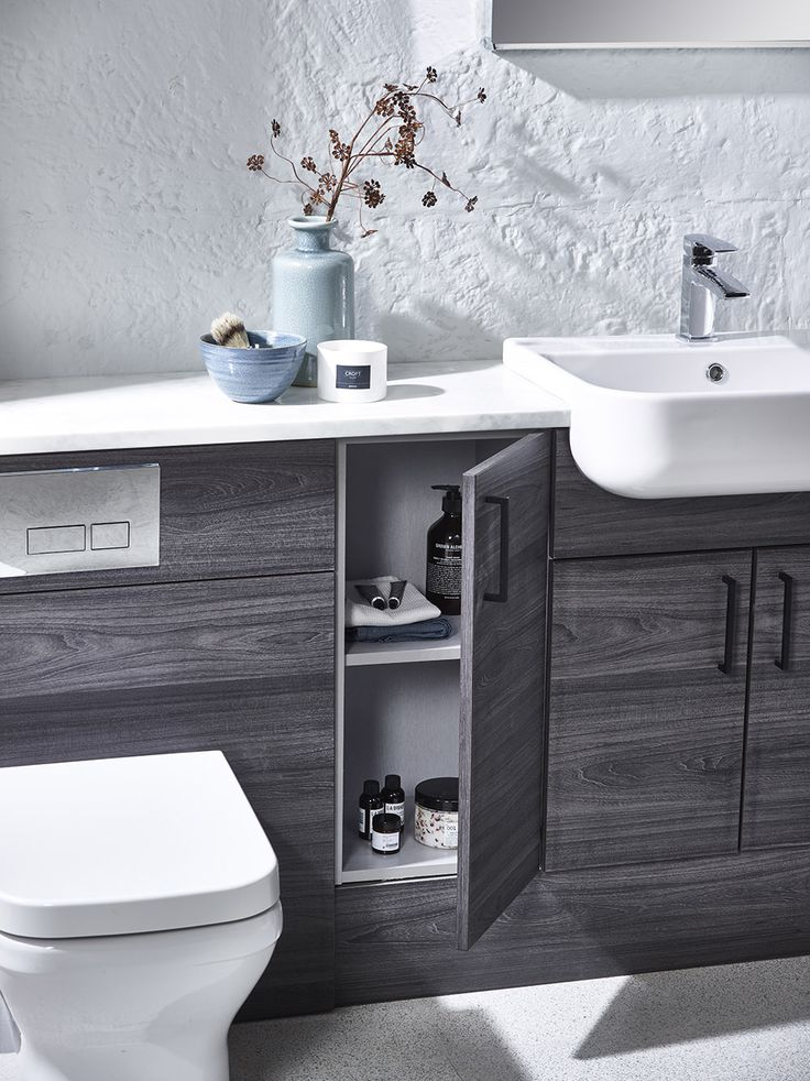 Bathroom Furniture Can Create Extra Storage Space For All Those Lotions U0026  Potions! Keeping The Sides Clean U0026 Tidy.