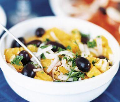 Recept: Apelsinsallad (-oliver!)