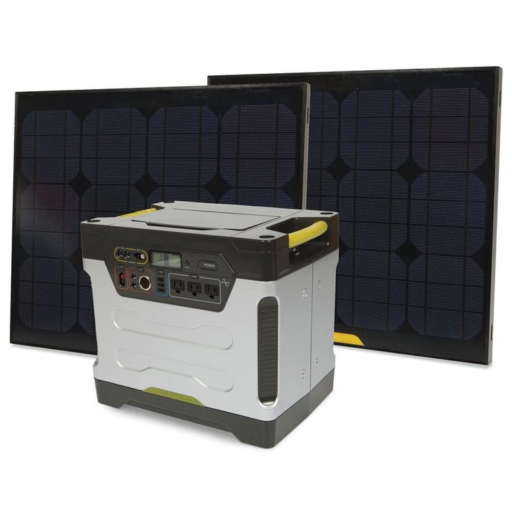 The Solar Power Generator - Hammacher Schlemmer - This is the generator that is powered by the sun and provides emergency electricity for any home appliance.