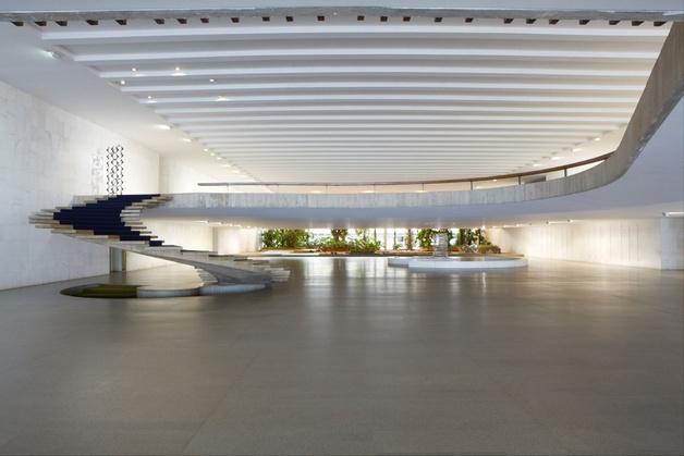 ministère des Affaires Étrangères - Brasilia, Oscar Niemeyer