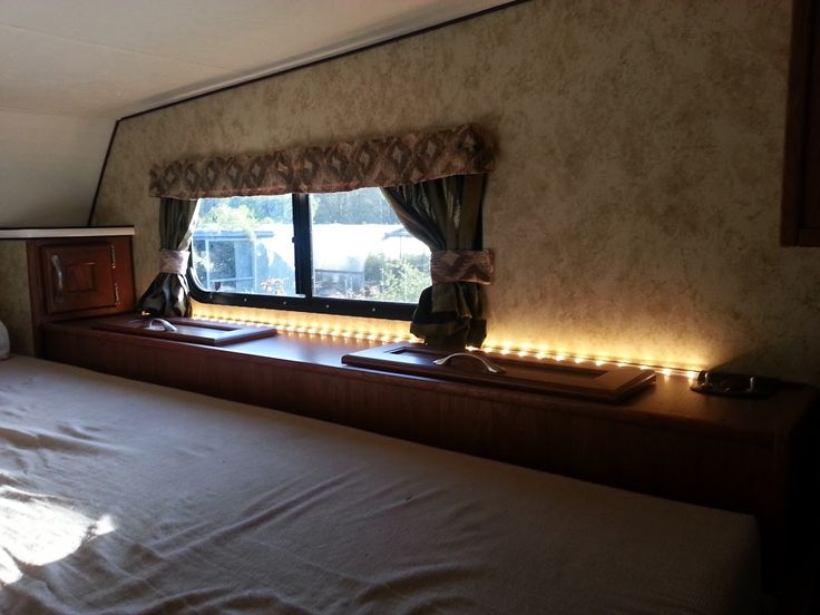 Light The Bedroom Up With LED Strip Light. Lighting Ideas