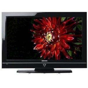 Medion Life P15038 81,3 cm (32 Zoll) Design LCD-Fernseher, Energieeffizienzklasse C (HD-Ready, DVB-T, 4x HDMI, USB 2.0) schwarz