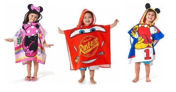 Disney Personalizable Hooded & Beach Towels On Sale For $9.99!