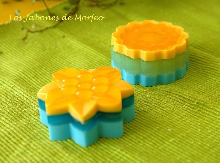 Flores con aroma a Naranja y Lima-Limón