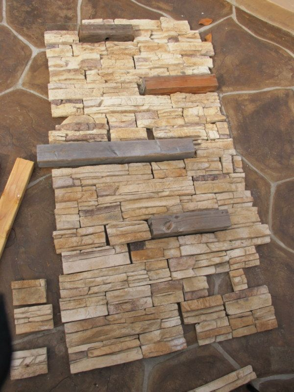 1000 Ideas About Faux Stone Walls On Pinterest Faux