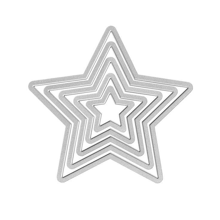 Bildergebnis für stampin up Stars Framelits Dies (133723)